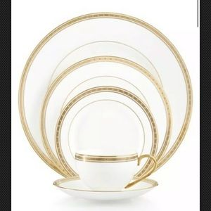 Kate Spade Oxford Place 5 piece place setting NEW